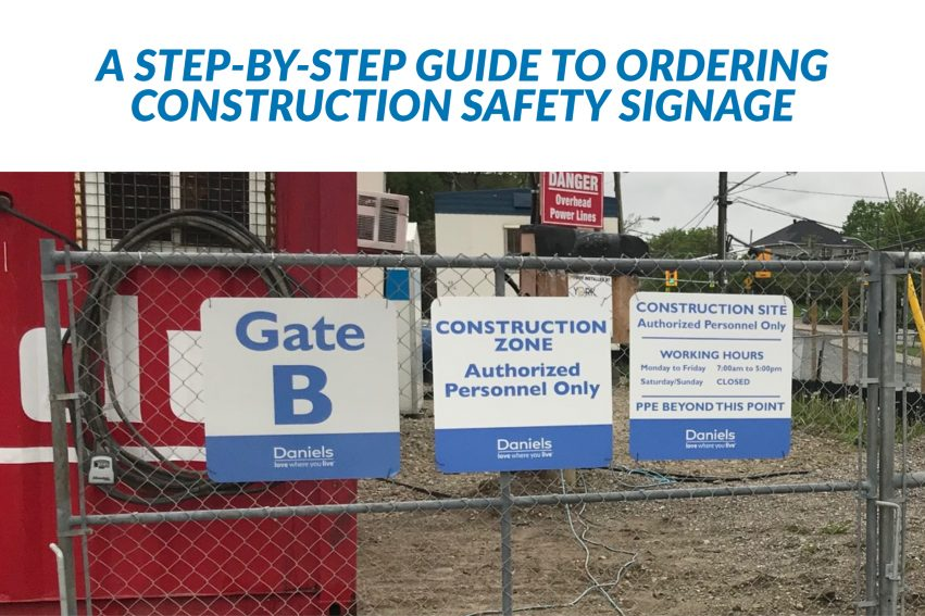 Ordering Construction Safety Signage from Arteest Signs