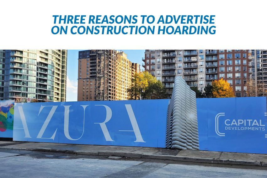 Three Reasons to Advertise on Hoarding